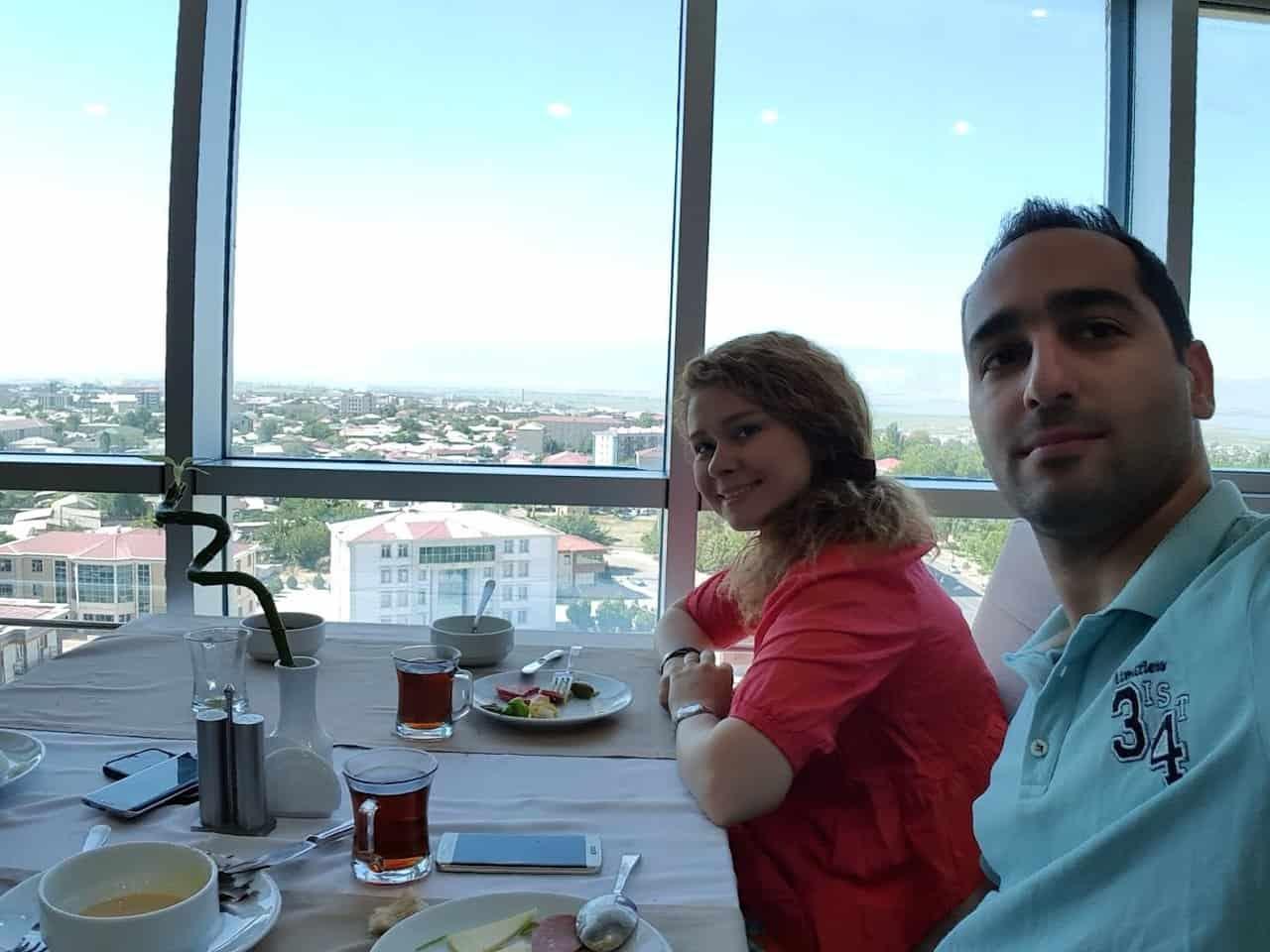 مطعم نخشيفان باكو اذربيجان