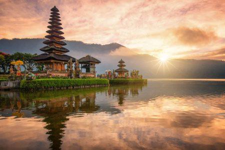 افضل 4 انشطة في بحيرة براتان بالي اندونيسيا
