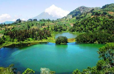 افضل 4 انشطة في البحيرة الملونة في بونشاك اندونيسيا