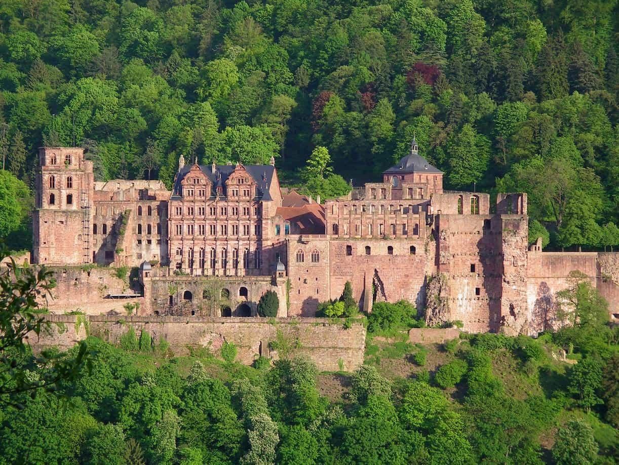 افضل 6 انشطة في قلعة هايدلبرغ في المانيا