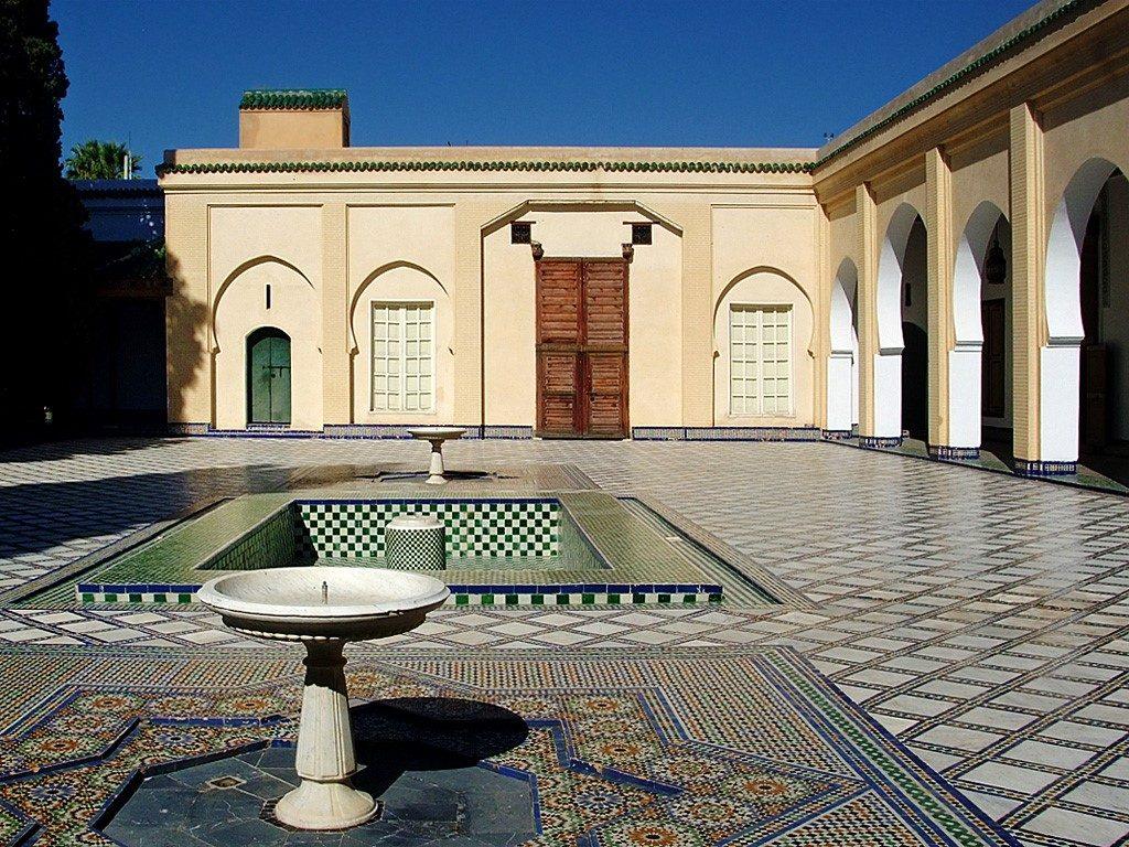 باحة متحف البطحاء فاس