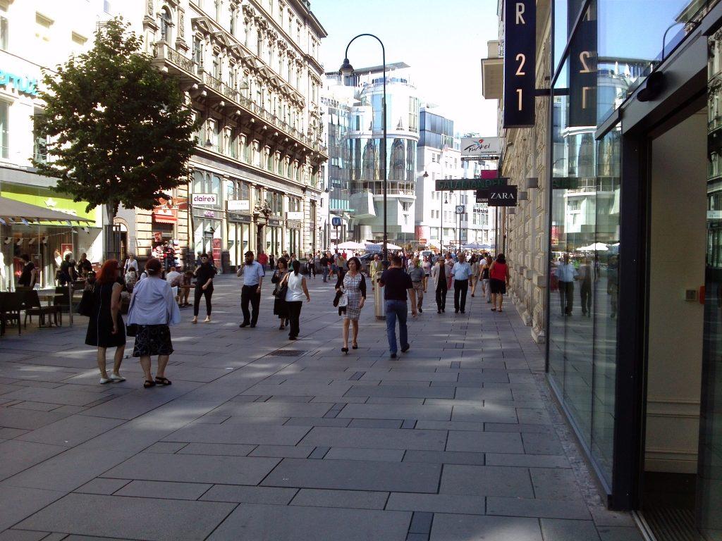 أسواق شارع كارنتنر فيينا