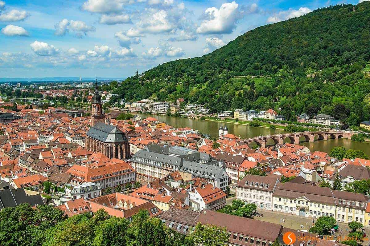 قلعة هايدلبرغ في المانيا