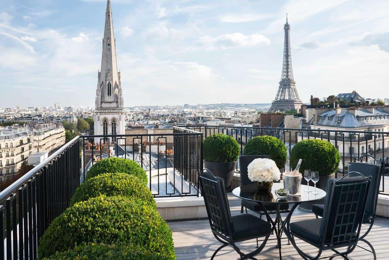 تقرير مصور عن فندق فورسيزون باريس