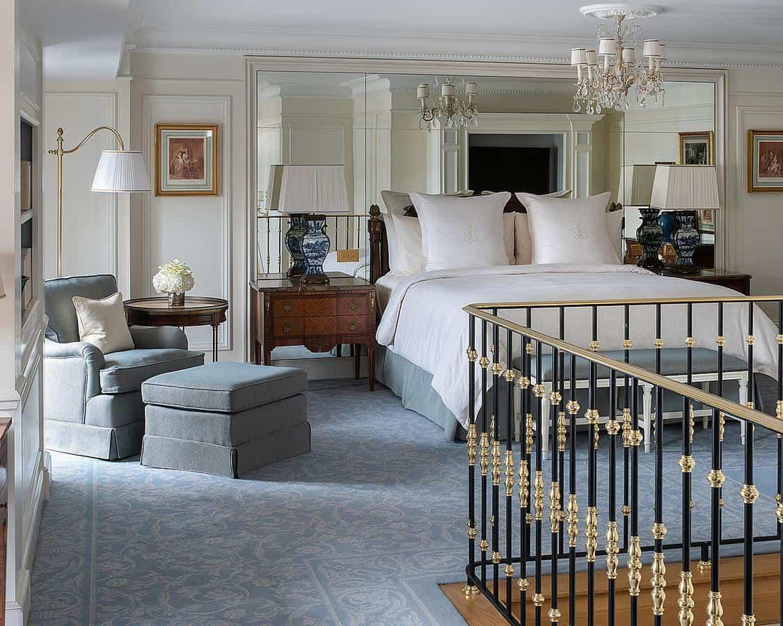 الغرف التي يقدمها الفندق