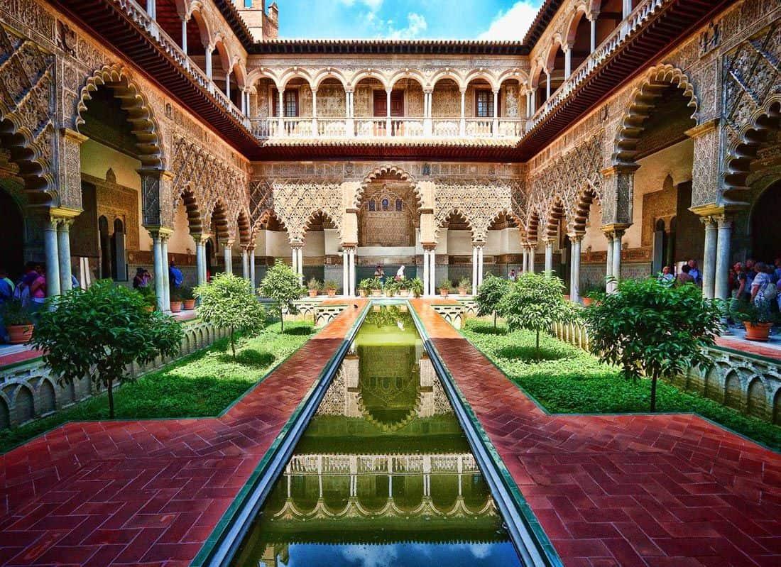 قصر المورق في اشبيليا اسبانيا (4)