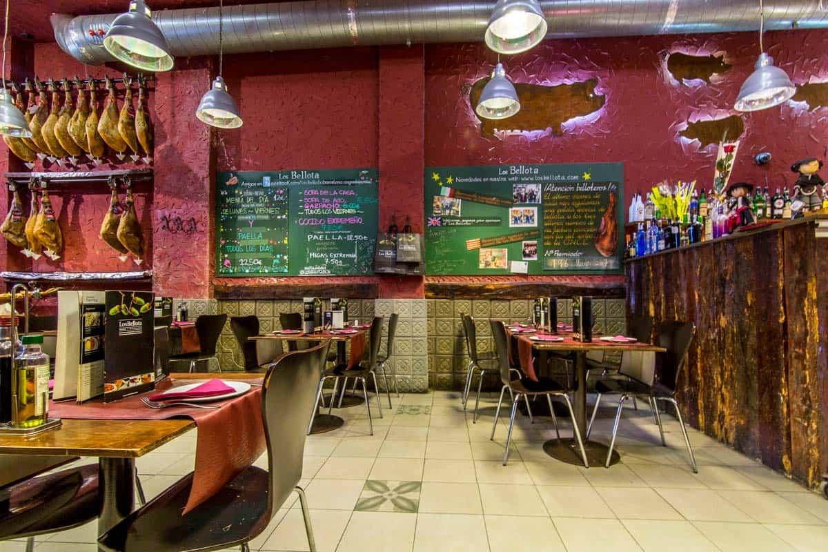 مطعم Los Bellota