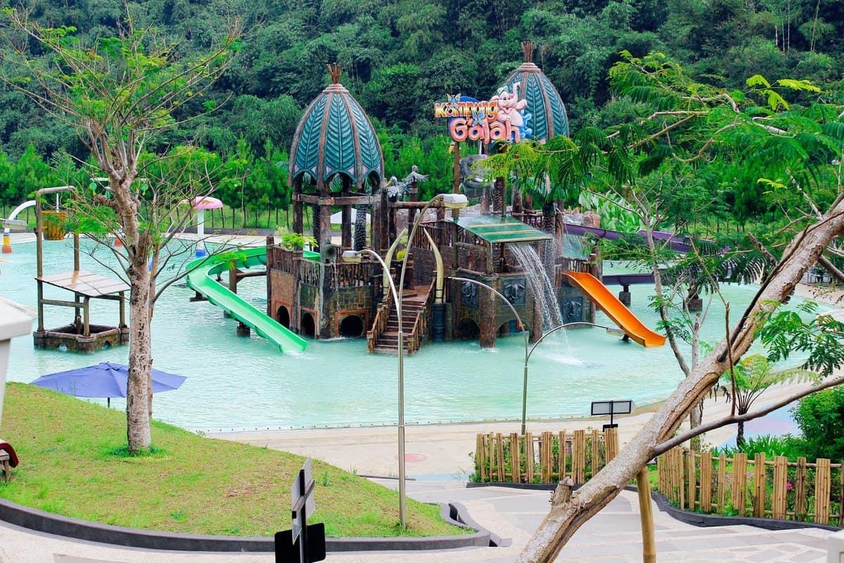 افضل 7 انشطة في منتزه كامبونج باندونق في اندونيسيا