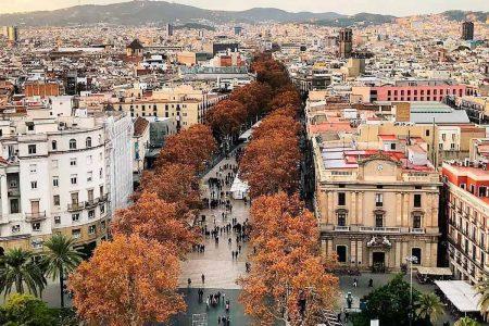 افضل 3 انشطة في شارع الرامبلا برشلونة اسبانيا
