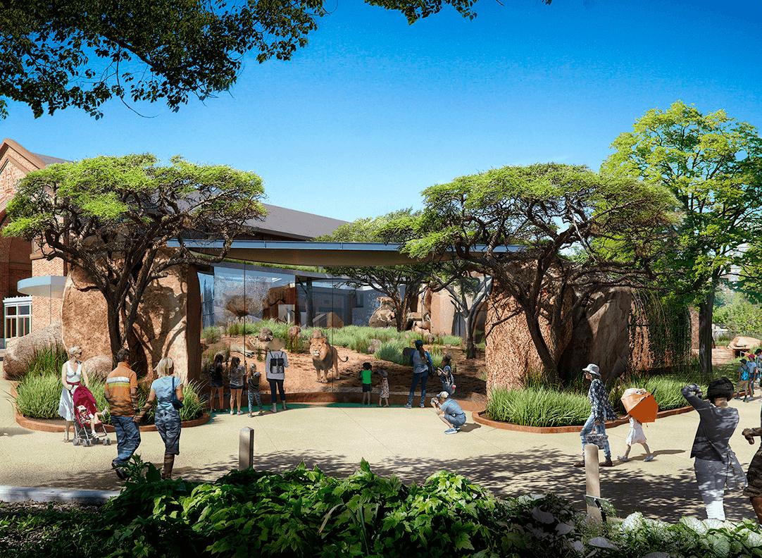 حديقة حيوان لنكولن بارك
