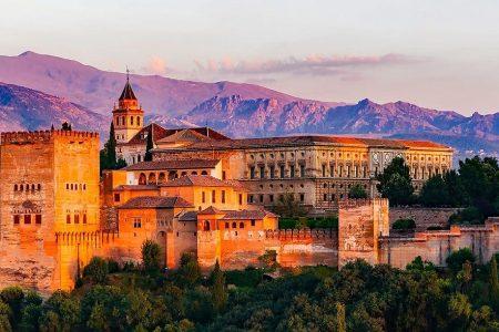 اين تقع غرناطة وما المسافات بينها وبين مدن اسبانيا