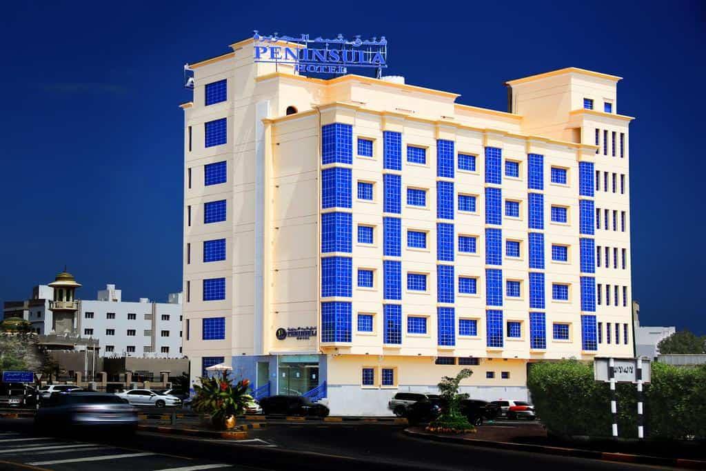 مبنى فندق فندق بيننسولا مسقط السيب