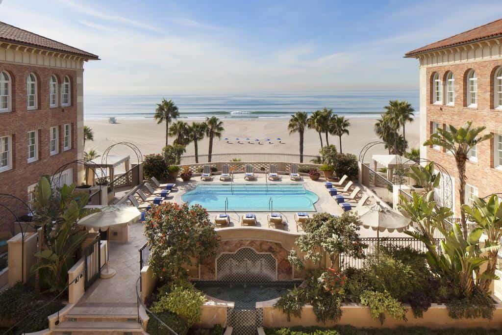 فندق كازا ديل مار أحد أجمل فنادق لوس انجلوس