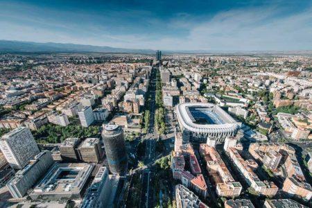 اين تقع مدريد وما المسافات بينها وبين مدن اسبانيا