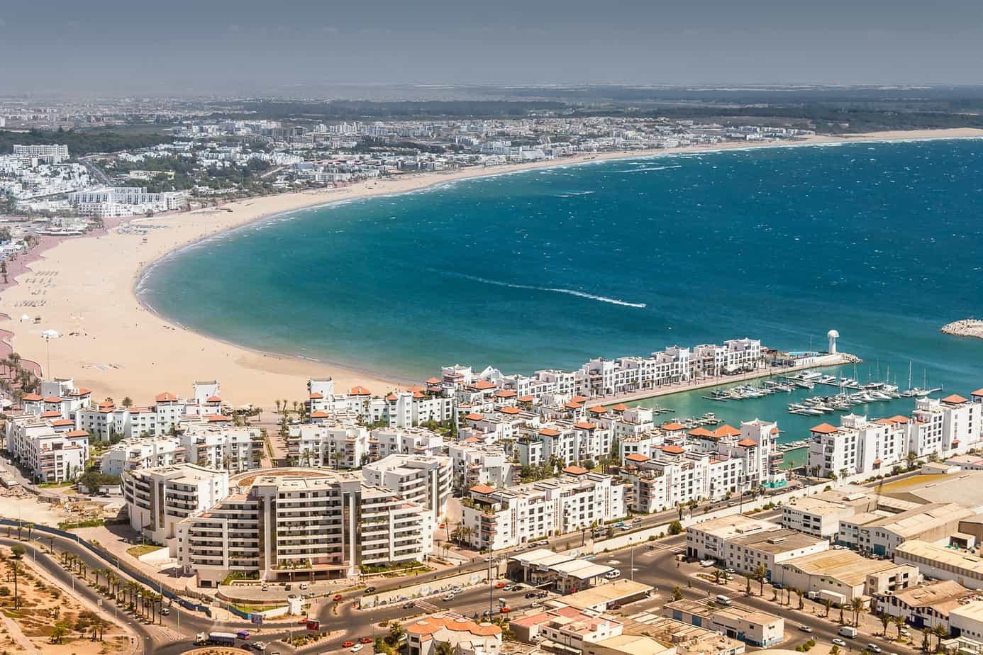 افضل 4 انشطة في سوق الاحد في اغادير