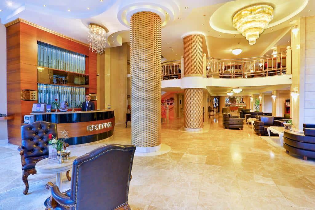 لوبي فندق اميثيست اسطنبول