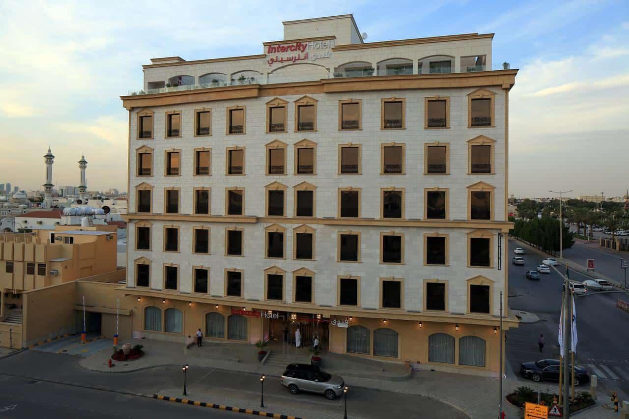 تقرير شامل عن فندق انترسيتي الرياض