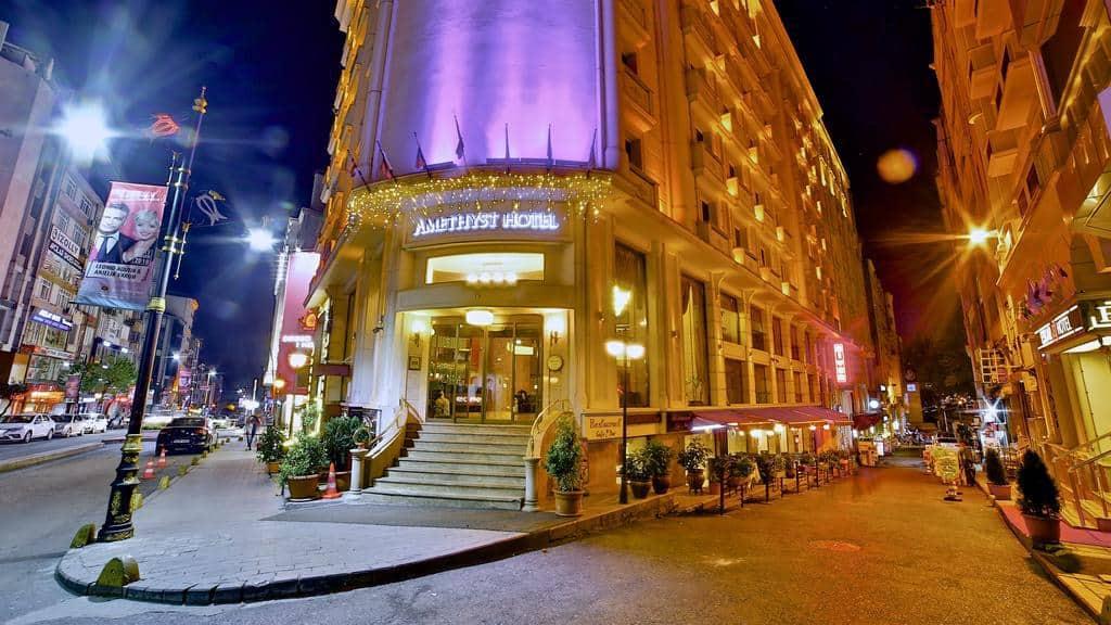 تقرير بالصور عن فندق اميثيست اسطنبول