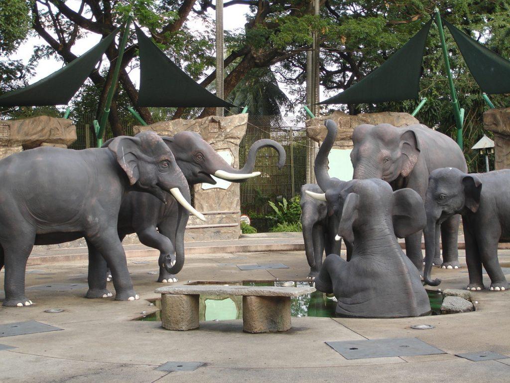 حديقة حيوانات دوسيت في بانكوك