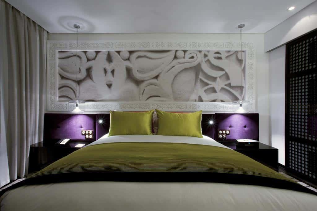 إحدى الغرف في فندق سوفيتيل الرباط