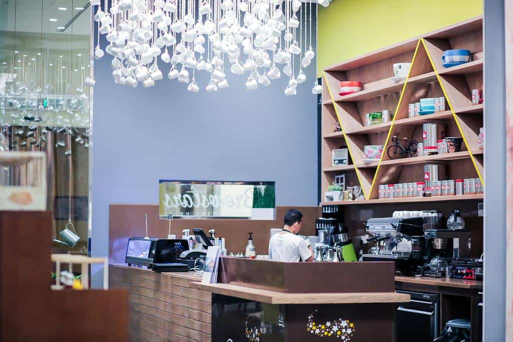 مقهى فندق كوبثورن الرياض