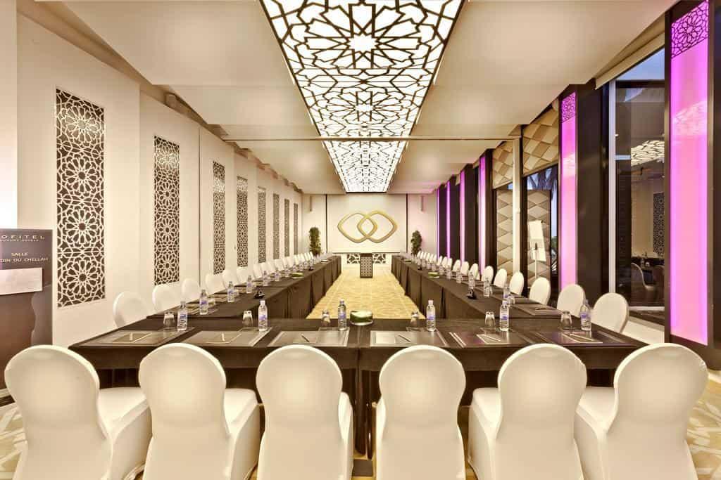 صالة الاجتماعات في الفندق