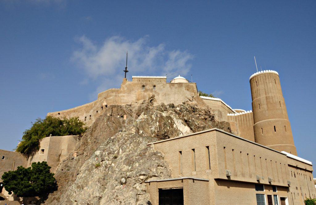 المعقل في قلعة الميراني مسقط