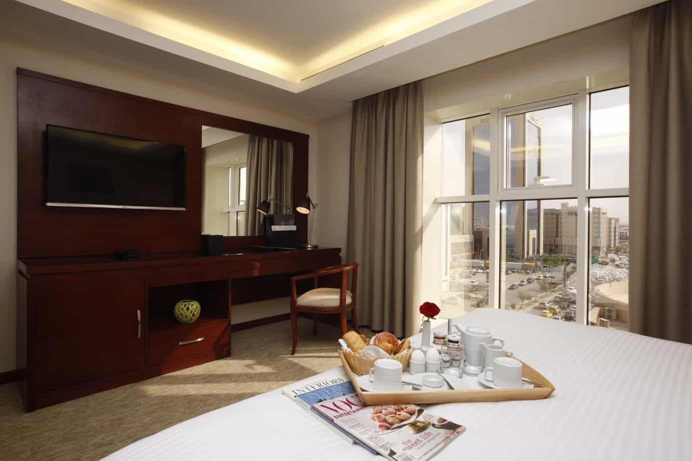 تقرير مميز عن سلسلة فندق جراند بلازا الرياض