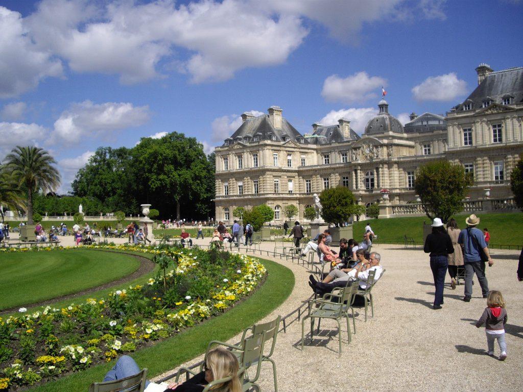 حدائق لوكسمبورغ باريس