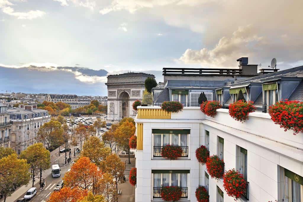 افضل 12 من فنادق الشانزليزية باريس موصى بها 2020
