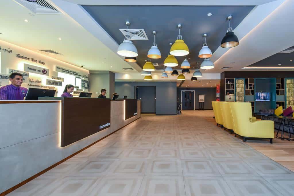 لوبي فندق بريمير ان مجمع دبي