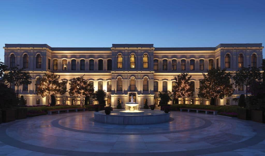 تقرير بالصور عن فندق فور سيزون اسطنبول البوسفور