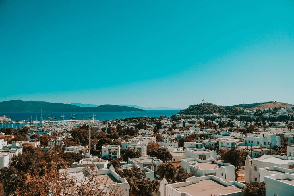 صورة لمدينة بودروم في الريفيرا التركية