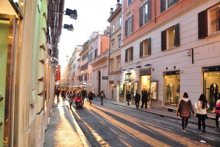 افضل 3 شوارع تسوق في روما