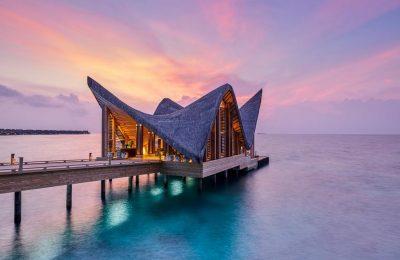 تقرير مصور عن منتجع جالي في جزر المالديف