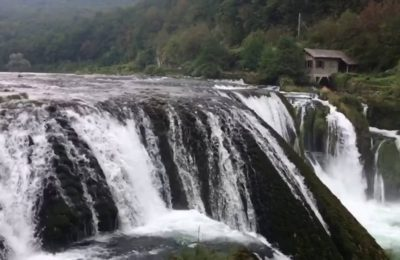 تقرير فيديو و صور عن شلالات شتريباتشكي بوك البوسنة