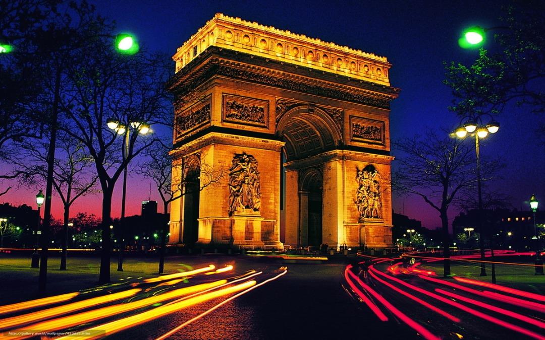 صورة قوس النصر في باريس