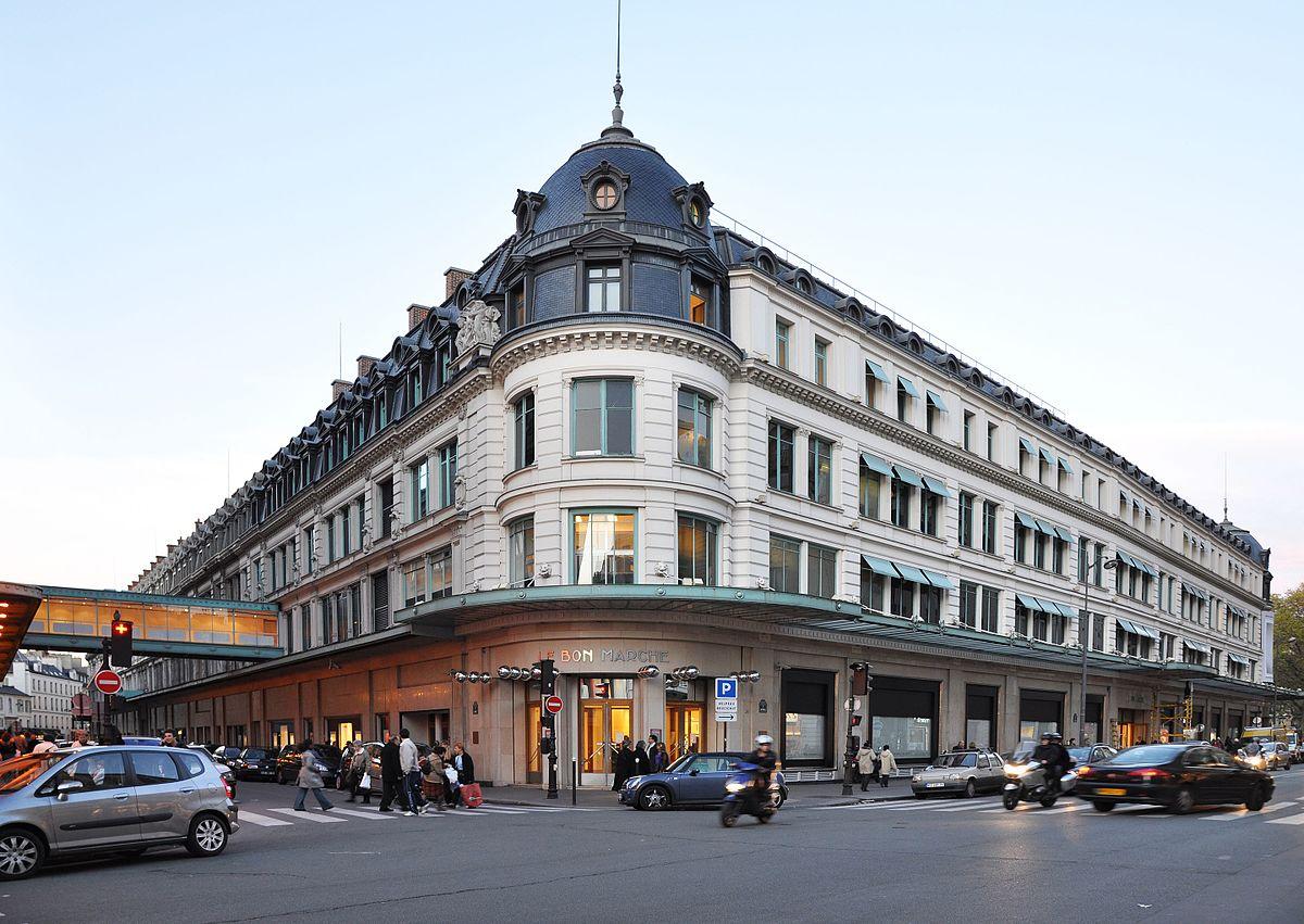 صورة لمبنى متجر لو بون مارشيه في باريس