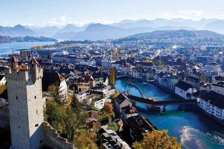 السياحة في مدينة لوسرن سويسرا