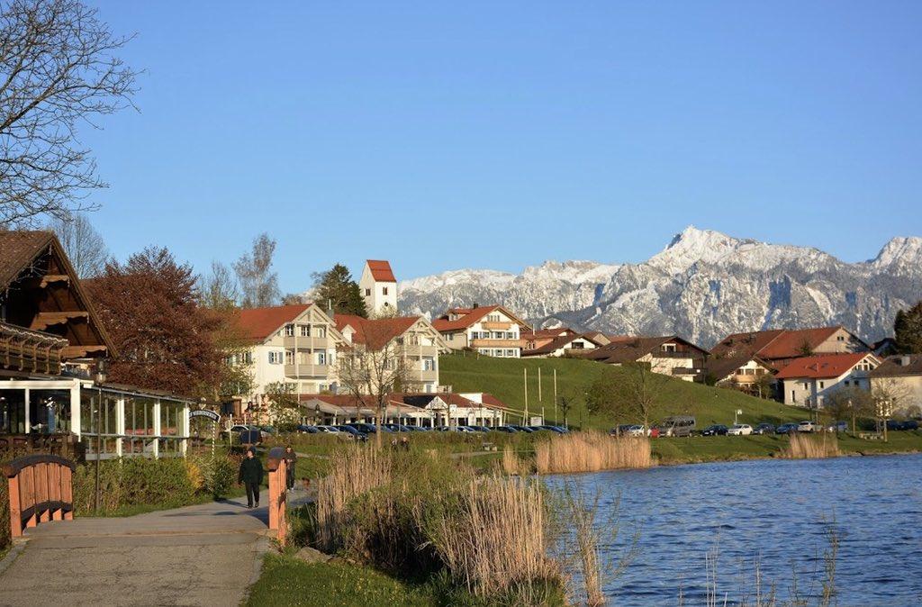 صورة لقرية فوسن الريف الالماني