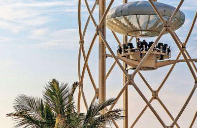 المنصة الدوارة فلاينج كب دبي تقرير مع الصور