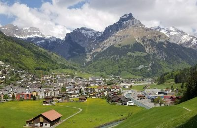 تقرير مصور عن قرية انجلبيرغ في سويسرا