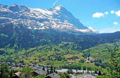 قرية جريندلفالد في سويسرا و اشهر معالمها