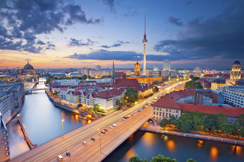 صورة لمدينة دوسلدورف الالمانية