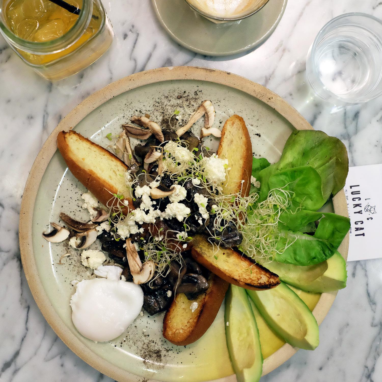 صورة وجبة في مقهى ومطبخ لاكي كات جاكرتا