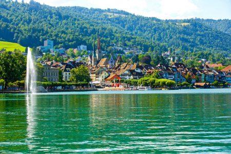 مدينة زوج سويسرا و اشهر اماكنها السياحية
