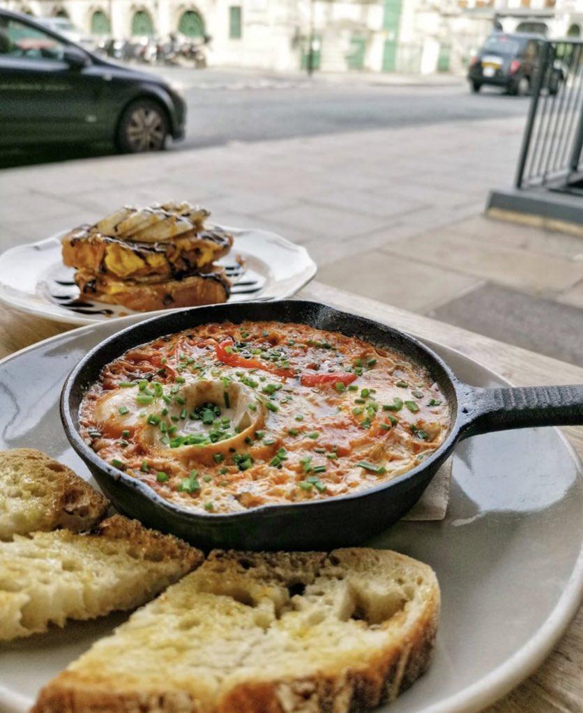 صورة احد الوجبات في مطعم بوبينا لندن