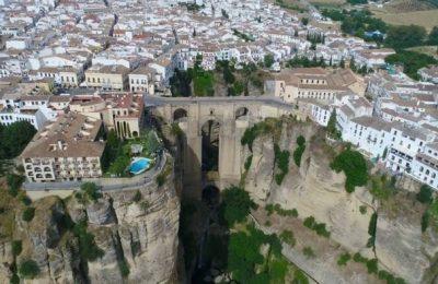 برنامج مختصر للوصول الى مدينة رندة اسبانيا