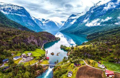 اهم 5 وجهات سياحية في مدينة سترين النرويج