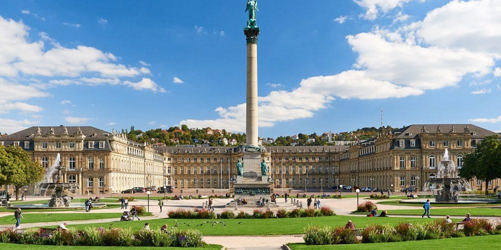 صورة لاحد معالم مدينة شتوتغارت المانيا
